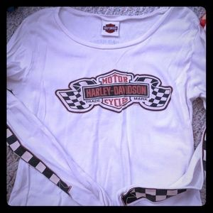 $2.00 Loved Harley Davidson shirt